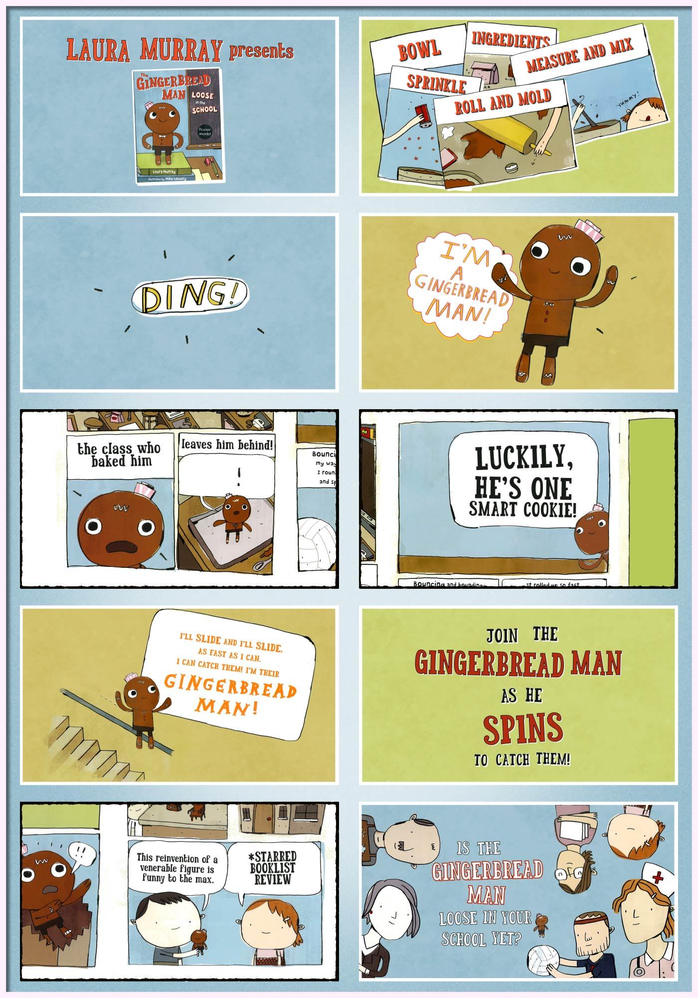 Gingerbread Man Book The gingerbread man loose