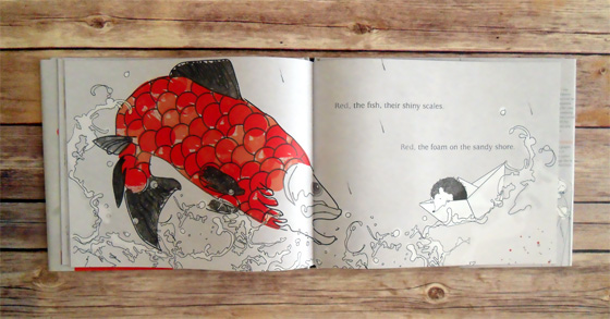 the intersection of graphic design + picture books