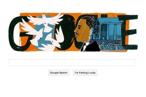 Christian Robinson's MLK Google Doodle